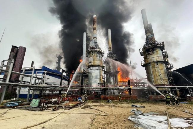 Ağustos ayında Rusya'nın Novy Urongoy doğal gaz sahasında çıkan yangın üretime ciddi zarar vermişti.